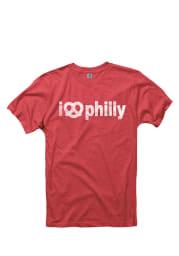 Philadelphia Red I Pretzel Philly Short Sleeve T Shirt
