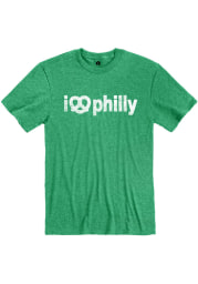 Philadelphia Green I Pretzel Philly Short Sleeve T Shirt