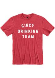 Cincinnati Red Drinking Short Sleeve T Shirt