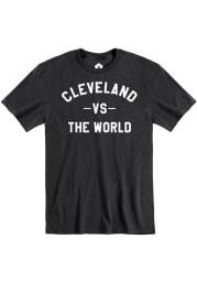 Cleveland Black VS The World Short Sleeve T Shirt