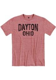 Dayton Red Wordmark Short Sleeve T Shirt