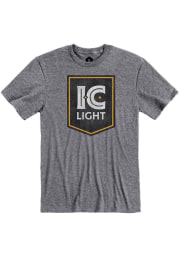 Pittsburgh Brewing Co. Graphite IC Light Logo Short Sleeve T Shirt