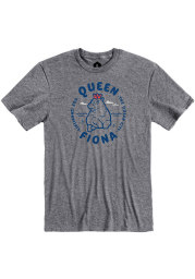 Fiona the Hippo Graphite Queen Short Sleeve T Shirt