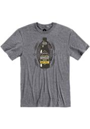 Boulevard Graphite Wheat Bottle Heather Short Sleeve T Shirt