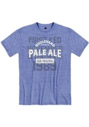 Boulevard Heather Royal Pale Ale Short Sleeve T Shirt