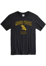 Missouri Western Griffons Black Dad Graphic Short Sleeve T Shirt