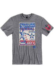 Rally St Louis Stars Grey Poster Inspired Short Sleeve Fashion T Shirt