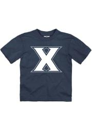 Xavier Musketeers Toddler Navy Blue Primary Logo Short Sleeve T-Shirt