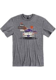 Vista Hamburgers Graphite Drive-In Short Sleeve T-Shirt