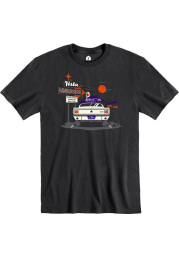Vista Hamburgers Drive-In Short Sleeve T-Shirt - Black