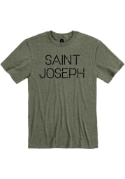 St. Joe Heather City Green Disconnected Short Sleeve T-Shirt