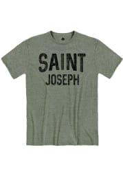 St. Joe Moss Snow Heather Wordmark Short Sleeve T-Shirt
