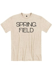 Springfield Putty Snow Heather Disconnected Short Sleeve T-Shirt