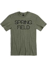 Springfield Heather City Green Disconnected Short Sleeve T-Shirt