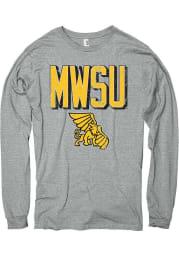 Missouri Western Griffons Grey Rival Long Sleeve T Shirt