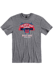 Billy Goat Tavern & Grill Graphite Curse Short Sleeve T-Shirt