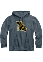 Rally Missouri Western Griffons Mens Charcoal Fleece Team Logo Long Sleeve Hoodie