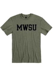Rally Missouri Western Griffons Olive Ringspun Block Name Short Sleeve T Shirt