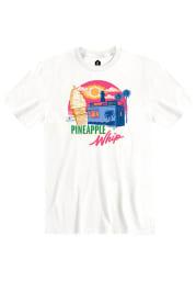 Pineapple Whip Truck Silhouette Short Sleeve T-Shirt - White