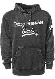 Rally Chicago American Giants Mens Black Club Script Fashion Hood