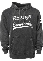 Rally Pittsburgh Crawfords Mens Black Club Script Fashion Hood