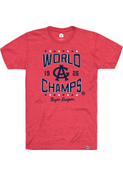 Rally Chicago American Giants Red World Champs Short Sleeve Fashion T Shirt