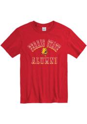 Ferris State Bulldogs Red Alumni Short Sleeve T Shirt