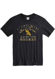 Missouri Western Griffons Black Alumni Short Sleeve T Shirt