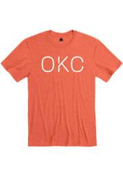 Rally Orange Disconnected Short Sleeve Fashion T Shirt