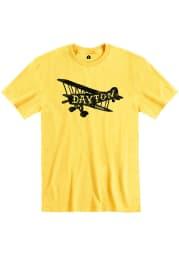 Rally Ohio Yellow Plane Short Sleeve Fashion T Shirt