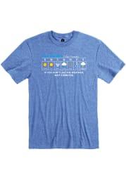 Rally Oklahoma Blue Forecast Short Sleeve Fashion T Shirt