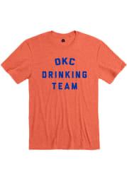 Rally Orange Drinking Team Short Sleeve Fashion T Shirt