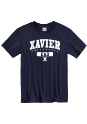 Xavier Musketeers Navy Blue Pill Short Sleeve T Shirt