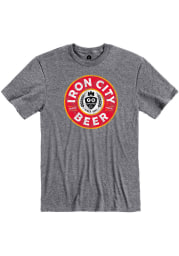 Pittsburgh Brewing Co. Graphite Prime Logo Short Sleeve T Shirt
