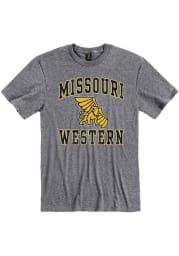 Missouri Western Griffons Grey #1 Design Short Sleeve T Shirt