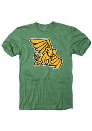 Missouri Western Griffons Green St. Patricks Day Short Sleeve T Shirt