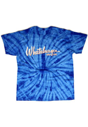 Texas Blue Logo Short Sleeve Fashion T Shirt
