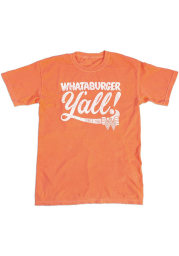 Texas Orange Yall Short Sleeve Fashion T Shirt