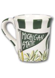 Michigan State Spartans Striped Mug