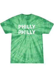 Rally Philadelphia Kelly Green Bridge Arch Short Sleeve T Shirt