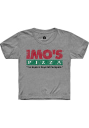 Rally St Louis Youth Grey Logo Short Sleeve T-Shirt