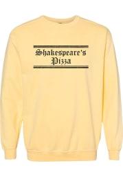 Shakespeare's Pizza Butter Prime Logo Long Sleeve Crew Sweatshirt