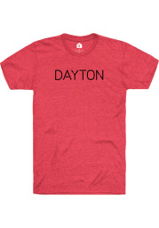 Rally Ohio Red Disconnect Short Sleeve Fashion T Shirt