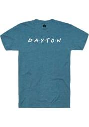Rally Ohio Teal Dots Short Sleeve Fashion T Shirt