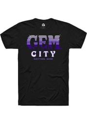 Rally Ohio Black Gem City Short Sleeve Fashion T Shirt