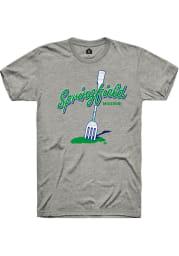 Rally Missouri Grey Big Fork Short Sleeve Fashion T Shirt