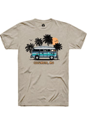 Rally Missouri Tan Bus Short Sleeve Fashion T Shirt