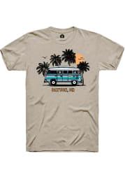 Rally Ohio Tan Bus Short Sleeve Fashion T Shirt