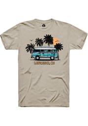 Rally Kansas Tan Bus Short Sleeve Fashion T Shirt