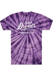 Arthur Bryant's Barbeque Purple Tie-Dye Logo SS Tee